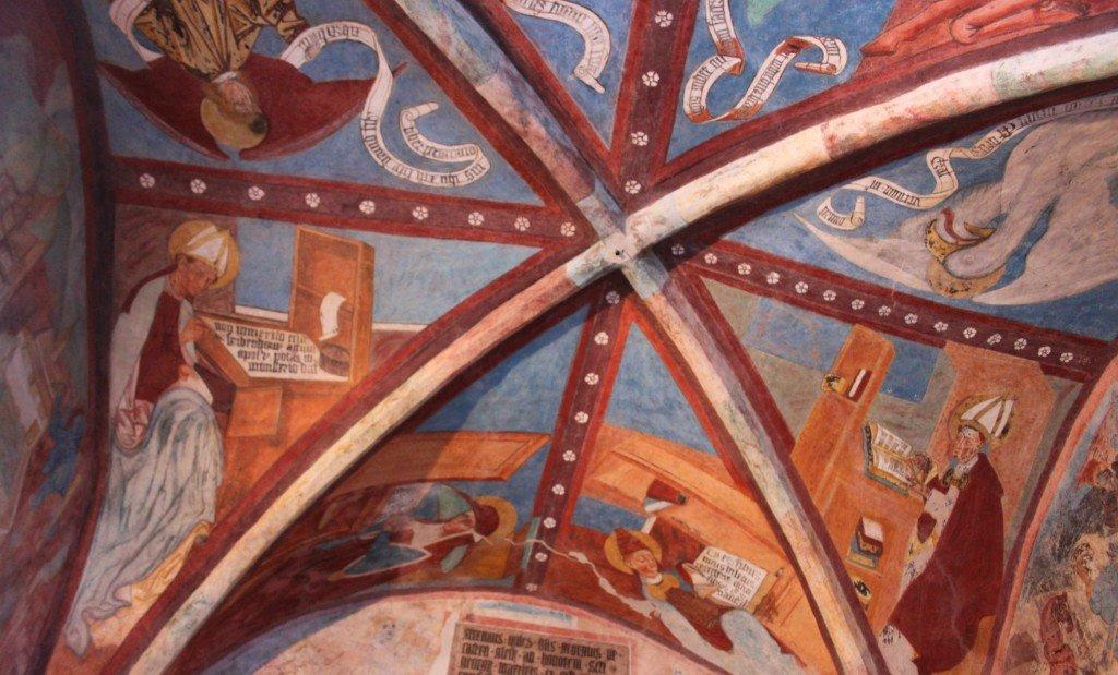 cappella di san giorgio santuario di san romedio ti amo trentino