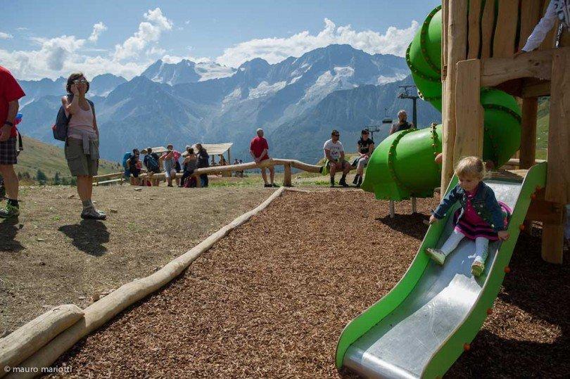 i giochi del villaggio delle marmotte dove i bambini si divertono moltissimo