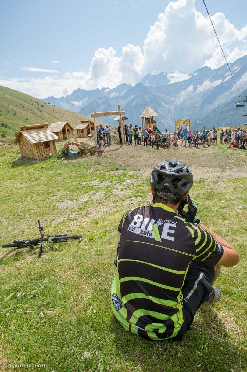 centro bike val di sole per la realizzazione del bike park al passo del tonale